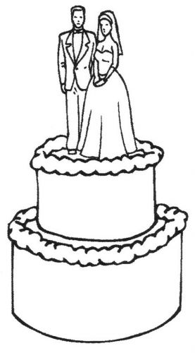 Crafty Stamps - Wedding Cake - WD153EI