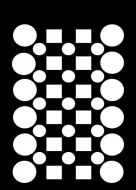 Checker Board Mini Stencil - Creative Expressions