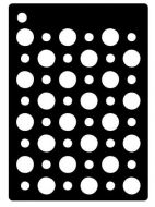 Double Dots Mini Stencil - Creative Expressions