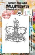 Crowning Glory Aall and Create A7 Stamp Kassa Hayselden 96 (AAL00096)