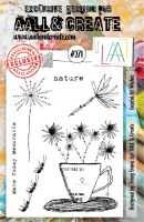 No. 271 Cupful of Wishes Aall and Create A5 Stamp