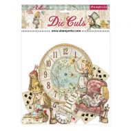 Die cuts assorted - Alice through the looking glass by Stamperia (DFLDC46)