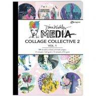 Dina Wakley Media Mixed Media Collage Collective 2 - Volume 1 (UK ONLY)