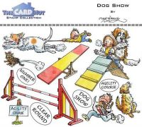 Dog Show a6 clear stamp set from Card Hut