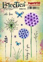 PaperArtsy Kay Carley EKC02 A5 Rubber Stamps