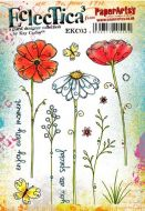 PaperArtsy - Kay Carley EKC03 - A5 Cling Rubber Stamp Set