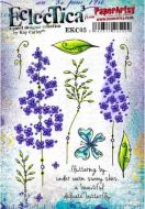 PaperArtsy - Kay Carley EKC05 A5 Cling Rubber Stamp Set