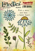 Lin Brown PaperArtsy A5 Cling Rubber Stamp Set 26 - ELB26