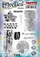 Eclectica Lin Brown 34 A5 Stamp Set (ELB34) PaperArtsy