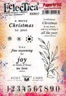Sara Naumann PaperArtsy A5 Cling Rubber Stamp Set 17 - ESN17