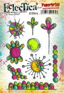 Tracy Scott ETS01 - A5 Cling Rubber Stamp Set