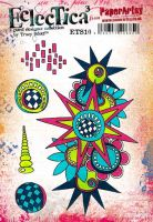 ETS10 - Tracy Scott PaperArtsy Cling Rubber Stamp Set
