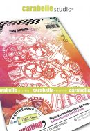 Engrenages Gears by Alexi for Carabelle Studio (AP60038) - Art Printing A6