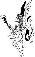 Crafty Stamps - Fairy - FA103HF