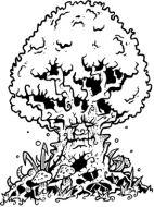 Crafty Stamps - Magic Tree - FA107M