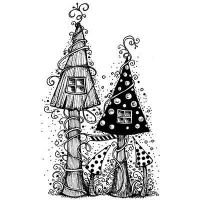 Fairy House Lavinia Stamps (LAV030)