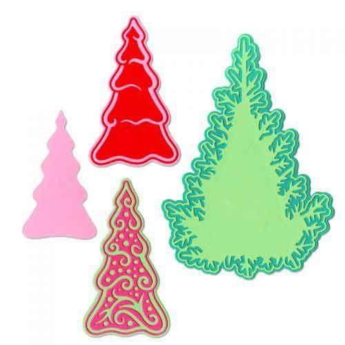 Fairy Set Background Trees - Jorli Perine - Sizzix Thinlets Die - 662847