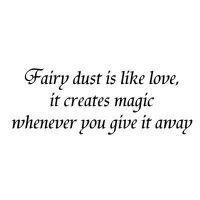 Fairy dust is like love Lavinia Stamps (LAV024)