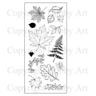 Falling Leaves Hobby Art Clear Stamp Set (CS086D)