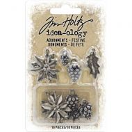 Festive Idea-Ology Metal Adornments 10 Pk (TH93990)