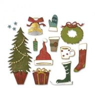 Festive Things - Tim Holtz - Sizzix Thinlets Die - 664191
