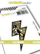 Flash Symbol Small Cling Stamp Carabelle Studio (smi0297)