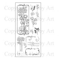 Flowers For Friends Hobby Art Clear Stamp Set (CS088D)