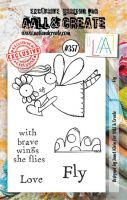 No. 357 Fly Aall and Create A7 Stamp
