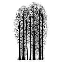 Forest Scene Lavinia Stamps (LAV524)