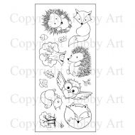 Forest Friends Hobby Art Clear Stamp Set (CS090D)