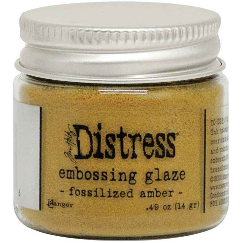 Fossilized Amber Tim Holtz Distress Embossing Glaze TDE70986
