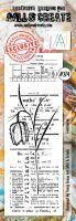 No. 274 Fritillaria Aall and Create Border Stamp