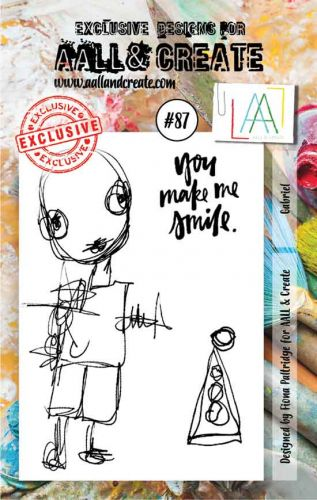 Gabriel Aall and Create A7 Stamp Fiona Paltridge 87 (AAL00087)