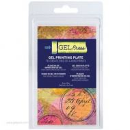 Gel Press Gel Plate 3 inch by 5 inch