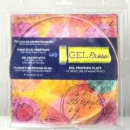 Gel Press Gel Plate 8 inch circle (UK ONLY)