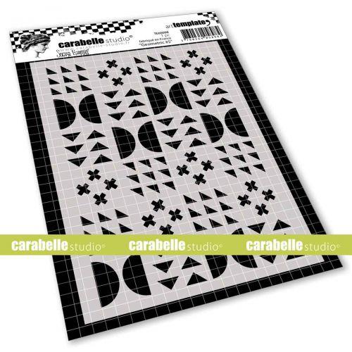 Geometric No.5 Stencil A6 by Soraya Hamming for Carabelle Studio (TE60098)