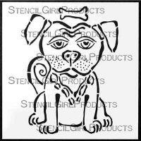 George 6 inch by 6 inch Stencil (S333) by Laura Fraedrich for StencilGirl