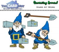 Gnome Hard At Work a6 clear stamp set from Card Hut