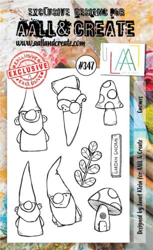 No. 347 Gnomes Aall and Create A6 Stamp
