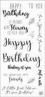 CS158D Hobby Art Stamps - Greetings for Friends