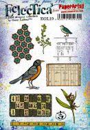 Gwen Lafleur 19 A5 Cling Rubber Stamp Set (EGL19) for PaperArtsy
