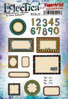 Gwen Lafleur 21 A5 Cling Rubber Stamp Set (EGL21) for PaperArtsy