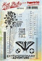 PaperArtsy Hot Picks Rubber Stamps HP1602EZ