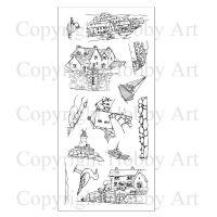 Harbour Village Hobby Art Clear Stamp Set (CS100D)