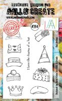 No. 284 Hat Drama Aall and Create A6 Stamp