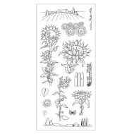 CS064D Hobby Art Stamps - Sunflowers