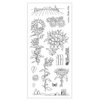 CS064D Hobby Art Stamps - Sunflowers