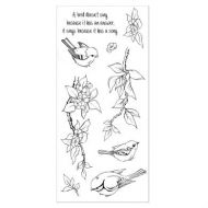 CS065D Hobby Art Stamps - Birdsong