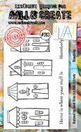No. 283 Homebody Aall and Create A6 Stamp