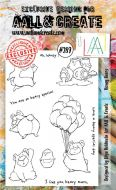 No. 289 Honey Bears Aall and Create A6 Stamp